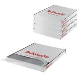 Folii de protectie, A4, cristal, 55 microni, 100 buc/cutie, 5 cutii/set Esselte
