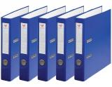 Biblioraft A4, 50 mm, plastifiat albastru, 25 buc/set EXTE