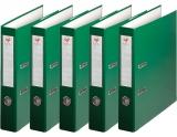 Pachet 25 Bibliorafturi A4 50 mm plastifiat verde EXTE
