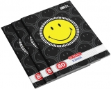 Set 5 caiete A4, 80 file, 70g/mp, dictando, Smiley Herlitz