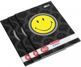Set 5 caiete A4, 80 file, 70g/mp, matematica, Smiley Herlitz