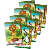 Caiet A5, 24 file, 80g/mp, Tip I, Cute Animals Premium, 20 buc/set Herlitz