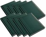 Agenda Herlitz, A5, nedatata, verde, 20 buc/set