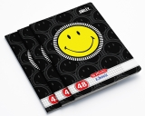 Set 10 caiete A5, 48 file, 70g/mp, matematica, Smiley Herlitz