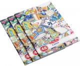 Set 10 caiete A4, 48 file, 70g/mp, matematica, Mozaic Herlitz