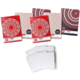 Pachet 5 caiete + coperti A4, 60 file, matematica, Traditional Romanesc Herlitz