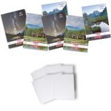 Pachet 5 caiete + coperti A4, 80 file, dictando, Romania Herlitz