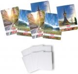 Pachet 5 caiete + coperti A4, 80 file, matematica, Romania Herlitz
