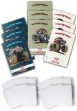 Pachet 10 caiete + coperti A5, 48 file, dictando, Monster Truck Herlitz