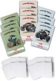 Pachet 10 caiete + coperti A5, 48 file, matematica, Monster Truck Herlitz