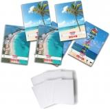 Pachet 5 caiete + coperti A4, 80 file, dictando, Summer Herlitz
