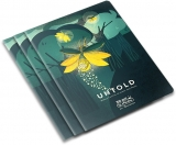 Caiet A5, 48 file, 80g/mp, dictando, colturi rotunjite, The Magic of Untold, 10 buc/set Herlitz