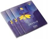 Caiet A5, 48 file, 80g/mp, matematica, colturi rotunjite, The Magic of Untold, 10 buc/set Herlitz