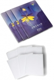 Pachet 10 caiete + coperti A5, 48 file, matematica, The Magic of Untold Herlitz