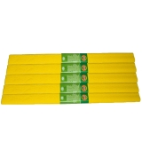 Hartie creponata 200 x 50 cm, culoare galben intens, 10 buc/set Koh-I-Noor