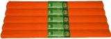 Hartie creponata 200 x 50 cm, culoare portocaliu, 10 buc/set Koh-I-Noor