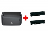 Imprimanta laser monocrom i-SENSYS LBP6030B A4 Negru + cadou 2 cartuse CRG725 Canon
