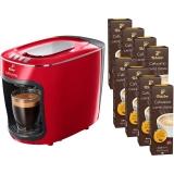 Pachet Espressor Tchibo Cafissimo mini Salsa Red + 80 capsule Caffe Crema Fine Aroma