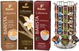 Pachet capsule cafea Tchibo Cafissimo Deluxe Pack 3 cutii/set + suport capsule