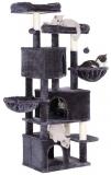 Copac pentru pisici de 164 cm, gri fum Feandrea
