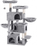 Copac pentru pisici de 164 cm, gri deschis Feandrea