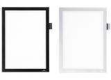 Rama magnetica Duraframe Note autoadeziv A4 cu spatiu pentru notite si suport pix Durable