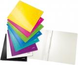 Dosar carton color, cu sina, WOW, 250 coli, Leitz