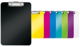 Clipboard simplu WOW, PS, A4, 80 coli, Leitz