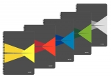Caiet de birou A5 matematica cu spirala coperta carton Office Leitz