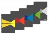 Caiet de birou A5 matematica cu spirala coperta PP Office Leitz