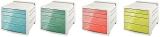 Cabinet cu 4 sertare Colour Ice Esselte