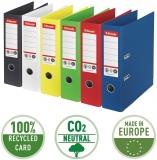 Biblioraft No 1, carton 100% reciclat si amprenta CO2 neutra, A4, 75 mm, Esselte