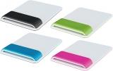 Mouse pad Ergo WOW cu suport ergonomic pentru incheietura mainii, ajustabil, Leitz