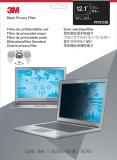 Filtru de confidentialitate negru pentru laptop standard de 12.1 inch 3M