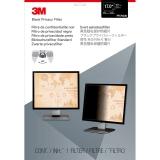 Filtru de confidentialitate negru pentru monitor standard de 17 inch 3M