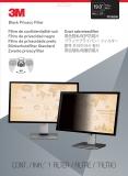 Filtru de confidentialitate negru pentru monitor standard de 19 inch 3M