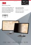 Filtru de confidentialitate negru pentru monitor de 19 inch (16:10) 3M
