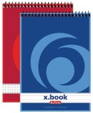 Bloc notes A6 cu spirala X-Book Herlitz