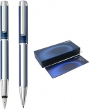 Set stilou si pix Pura Blue Pelikan