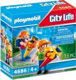 Prima Zi De Scoala A Copiilor Playmobil