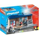 Set Mobil Statie De Politie Playmobil