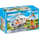 Elicopter De Salvare Playmobil
