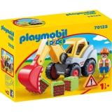1.2.3 Excavator Cu Brat Mobil Playmobil