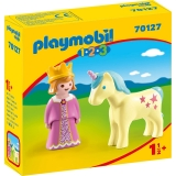 1.2.3 Printesa Cu Unicorn Playmobil