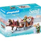 Spirit Iii - Plimbare Cu Sania Playmobil