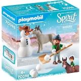 Spirit Iii - Om De Zapada Si Copil Playmobil