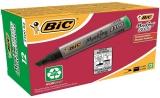 Marker permanent verde 2300, 12 buc/cutie Bic