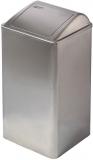 Cos de interior cu capac batant, inox satinat, 65 litri, Mediclinics