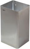 Cos de interior fara capac, inox satinat, 65 litri, Mediclinics