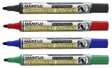 Marker permanent Maxiflo varf rotund 4.5 mm Pentel